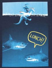 Boys Shark Graphic Tee