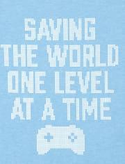 Boys Saving The World Graphic Tee