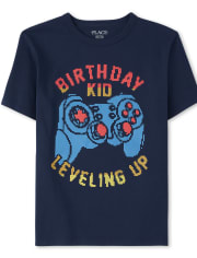 Boys Birthday Video Game Graphic Tee
