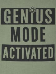 Boys Genius Mode Graphic Tee