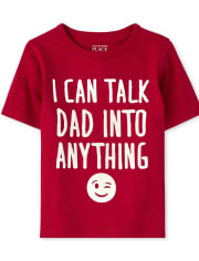 Baby And Toddler Boys Dad Graphic Tee
