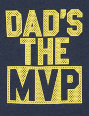 Baby And Toddler Boys Dad MVP Graphic Tee