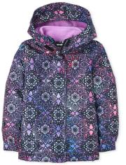 Girls Print 3 In 1 Jacket