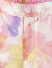 Girls Print Snow Pants