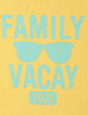 Unisex Adult Matching Family Vacay 2020 Graphic Tee