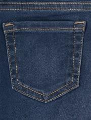 Girls Super-Soft Stretch Denim Legging Jeans