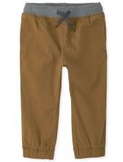 Pantalon de jogging extensible pour bébé et tout-petit garçon