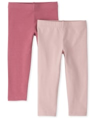Toddler Girls Leggings 2-Pack