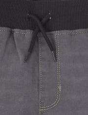 Boys Super-Soft Stretch Denim Sweatpant Jeans