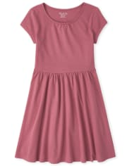Girls Essential Skater Dress