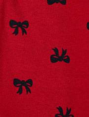 Toddler Girls Floral Dot Leggings 2-Pack