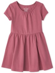 Toddler Girls Essential Skater Dress