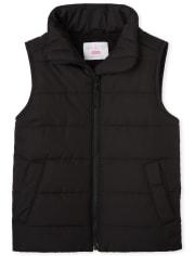 Girls Puffer Vest