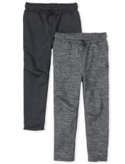 Boys Performance Pants 2-Pack