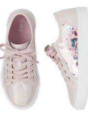 Girls Shakey Low Top Sneakers