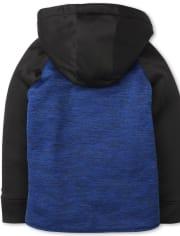 Sudadera con capucha y cremallera Active Sherpa Performance para niño