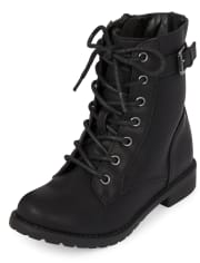 lace up boots for girls