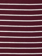 Girls Striped Basic Layering Tee