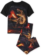 Boys Volcano Dino Pajamas