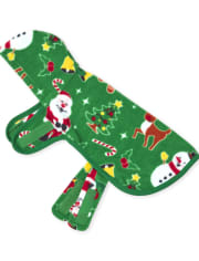 Dog Matching Family Christmas Crew Fleece Pajamas
