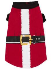 Dog Matching Family Santa Suit Cotton Pajamas