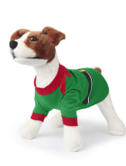 Dog Matching Family Elf Cotton Pajamas
