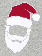 Unisex Baby And Toddler Matching Family Glow Santa Striped Snug Fit Cotton Pajamas