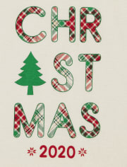 Unisex Baby And Toddler Matching Family Christmas Tartan Snug Fit Cotton Pajamas