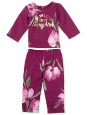 Doll Mommy And Me Best Snug Fit Cotton Matching Pajamas