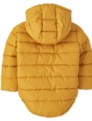 Baby And Toddler Boys Shiny Puffer Jacket