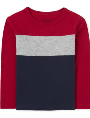 Baby And Toddler Boys Colorblock Top