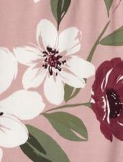 Girls Floral Leggings 3-Pack
