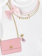 Baby Girls Fashionista Bodysuit 4-Pack