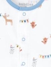 Baby Boys Happy Bear 4-Piece Take Me Home Set