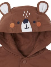 Baby Boys Bear 3-Piece Playwear Set