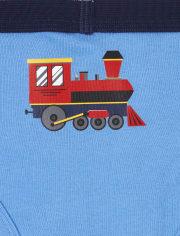 Toddler Boys Train Briefs 7-Pack