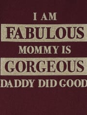 Baby And Toddler Girls Fabulous Graphic Tee