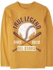 Boys True Legend Baseball Graphic Tee