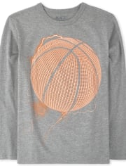 Boys Basketball Graphic Tee