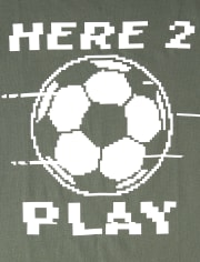 Boys Soccer Graphic Tee
