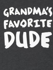 Baby And Toddler Boys Grandma's Favorite Graphic Tee