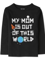 Baby And Toddler Boys Out OF This World Graphic Tee