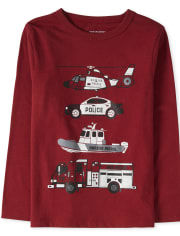 Baby And Toddler Boys Rescue Graphic Tee