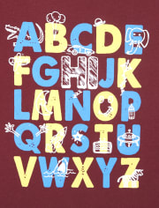 Baby And Toddler Boys ABC 123 Graphic Tee 2-Pack