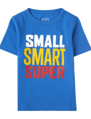 Baby And Toddler Boys Super Graphic Tee