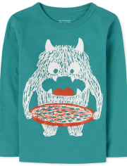 Baby And Toddler Boys Monster Graphic Tee