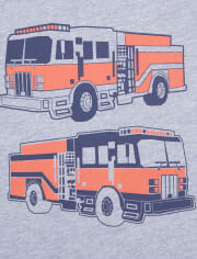 Baby And Toddler Boys Vehicles Graphic Tee 2-Pack