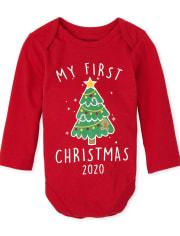 Unisex Baby Christmas 2020 Graphic Bodysuit