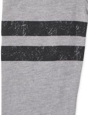 Camiseta unisex con estampado de fútbol familiar a juego para bebés y niños pequeños