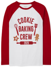 Unisex Adult Matching Family Baking Crew Graphic Tee